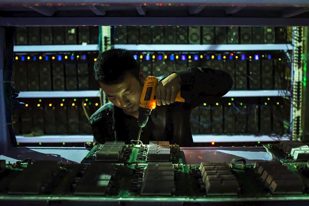 Майнинг криптовалюты в Китае