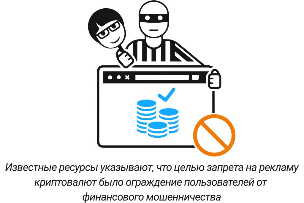 Запрет на криптовалюту сегодня