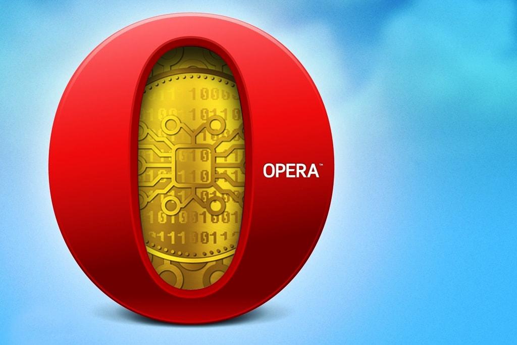 Новости криптовалют о новинке от компании Opera