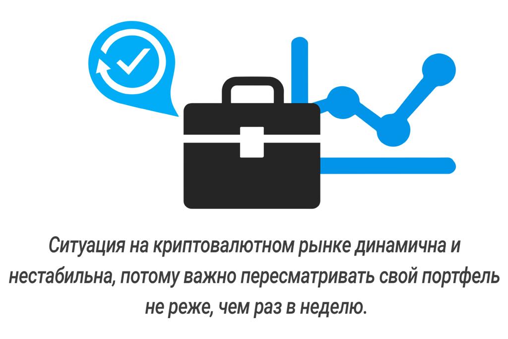 Трейдинг криптовалют и управление портфелем