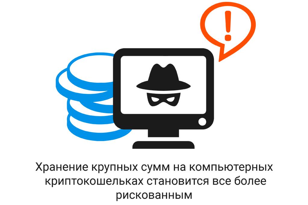 Хранение средств на кошельках для криптовалют