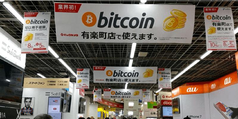 Популярность Биткоина в Азии