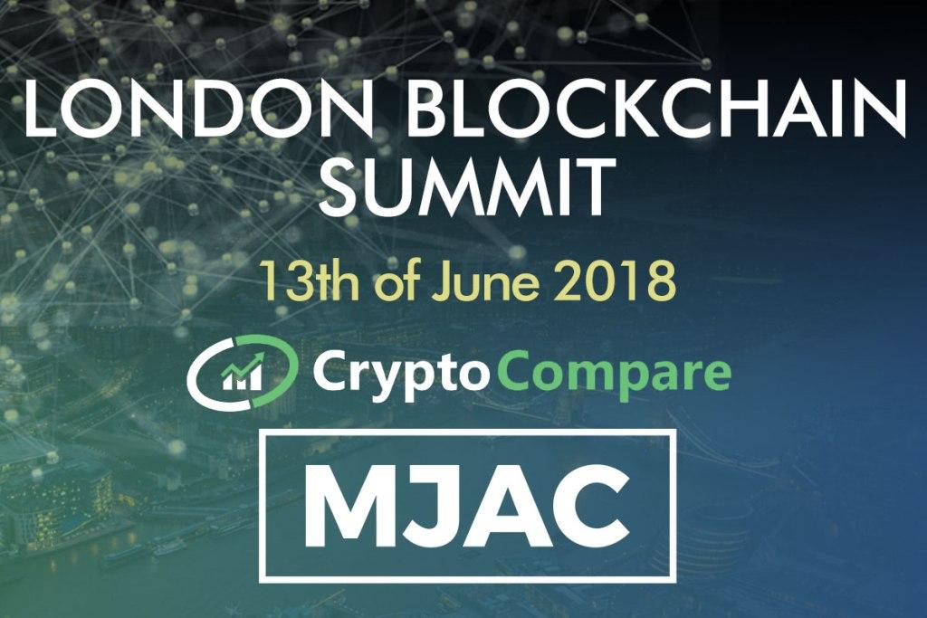Блокчейн конференция в Лондоне 13 июня 2018 года