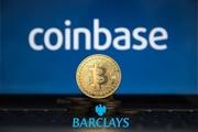 Биржа криптовалют Coinbase и банк Barclays