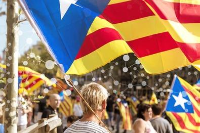 Новости о технологии блокчейн и Каталонии