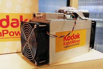 Новости криптовалют об установке для майнинга Kodak KashМiner