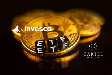 Новости криптовалют о гиганте Invesco